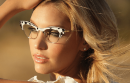 Der romantische Stiltyp Brille