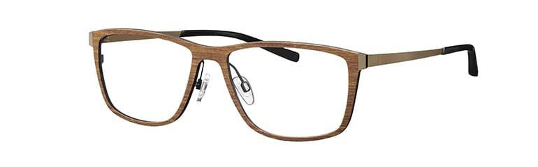 Brille aus Holz