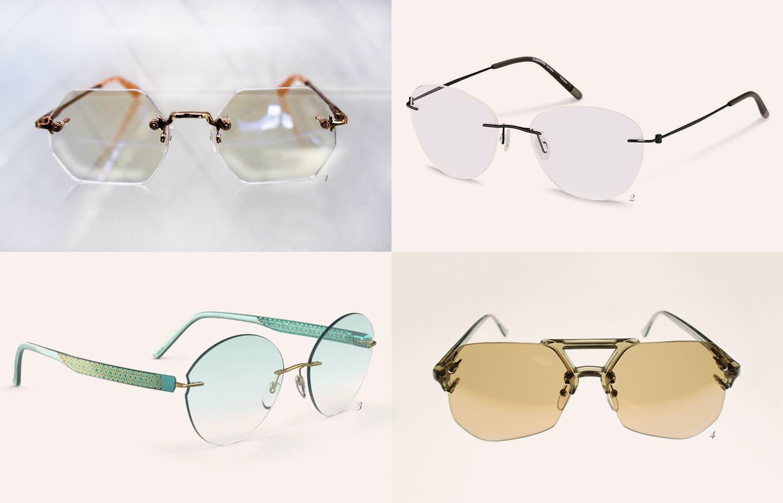 Brillentrends 2019 rahmenlose Brillen