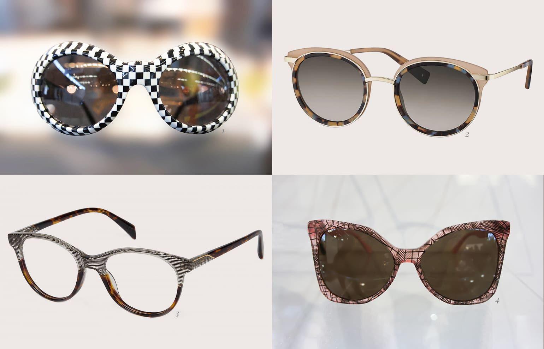 Brillentrends 2019 Brillen mit Mustern