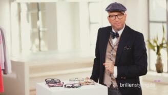 Thomas Rath: Der Modedesigner stellt die Brillentrends vor