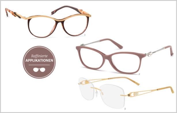 detailverliebt-Brillen mit raffinierten Applikationen