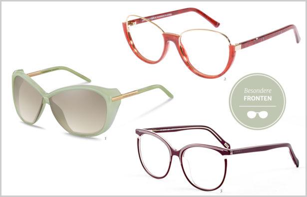 Detailverliebt – Brillen mit besonderen Fronten