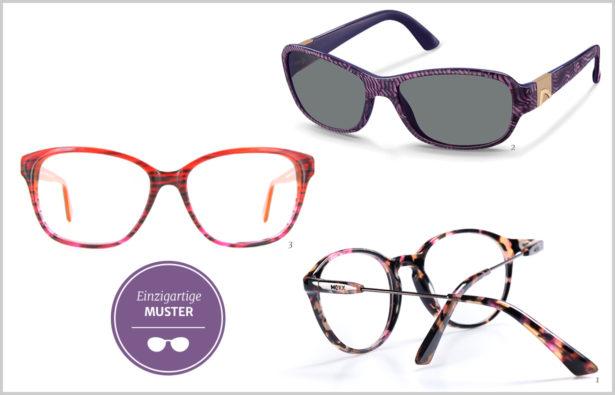 Detailverliebt– Brillen mit einzigartigen Mustern