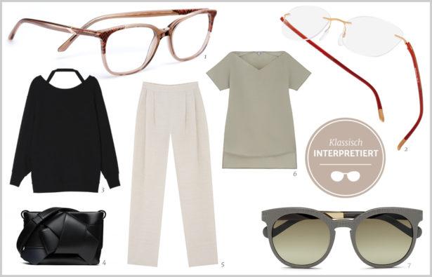 Abschnitt: Schlichtes Outfit klassisch interpretiert