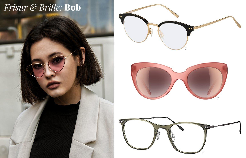 Bob Hairstyle und Brille