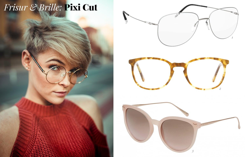 Frisur Und Brille Ein Trendy Paar Brillenstyling