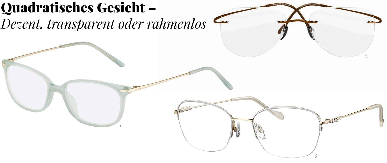 Dezente Brillen