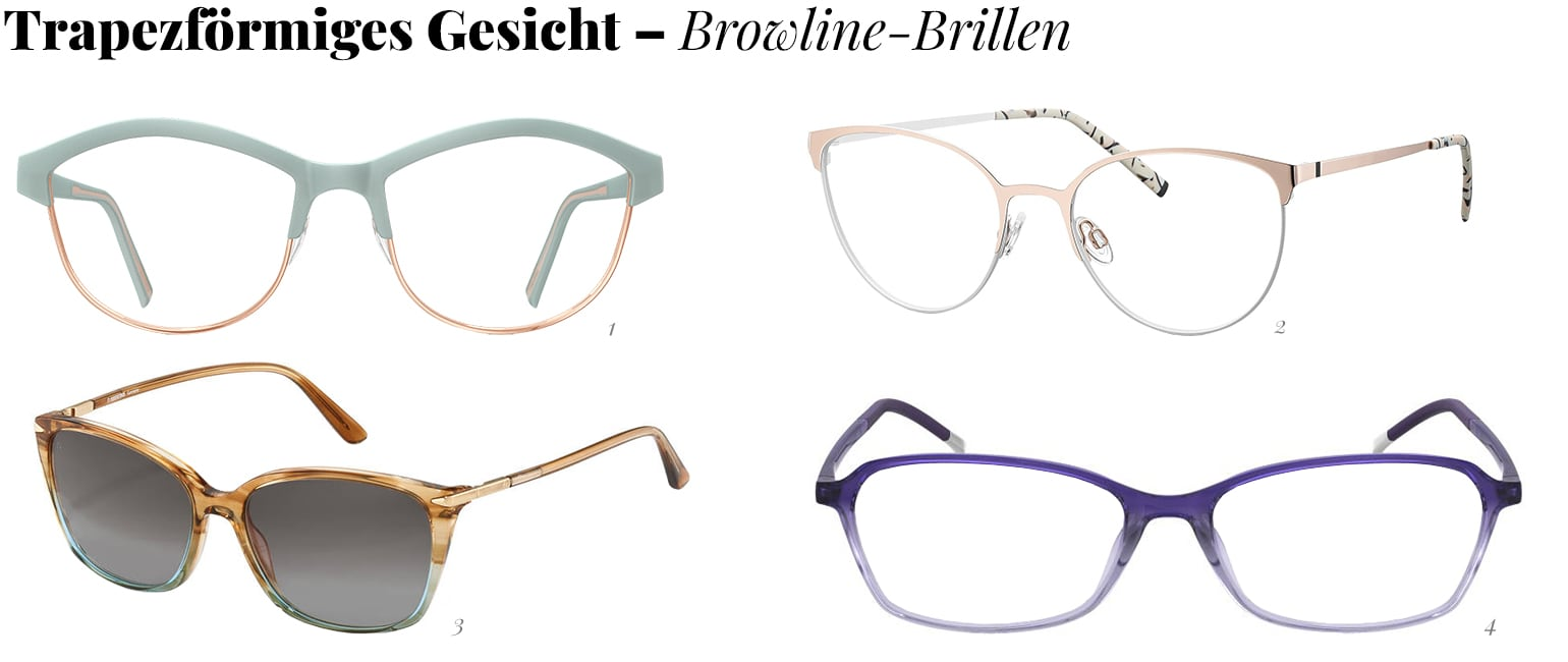 Browline-Brillen