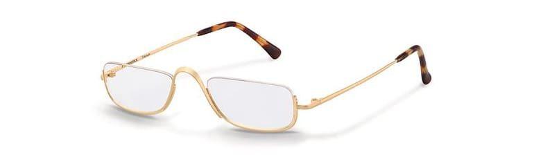 Halbrandbrille zum Lesen