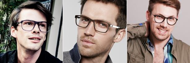 Trendy, sexy, hip – Männer entdecken die Herrenbrillen als modische Accessoires. Bilder: Robert La Roche, Lindberg, Funk Food
