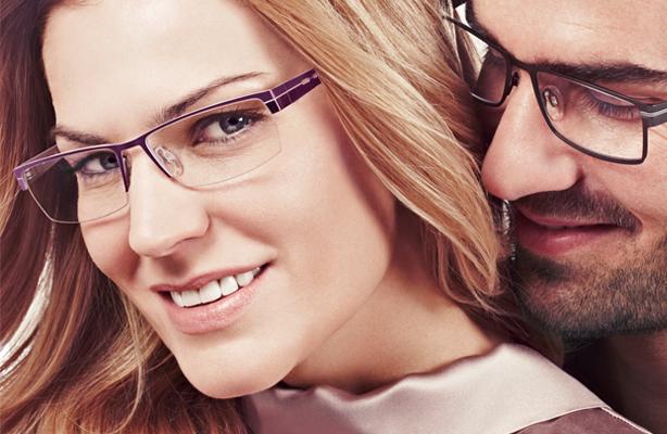 Farbtyp: Bild mit zwei Models mit Brille