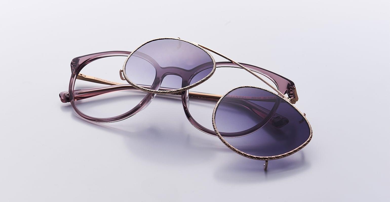Korrektionsbrillen mit Sonnenaufsatz