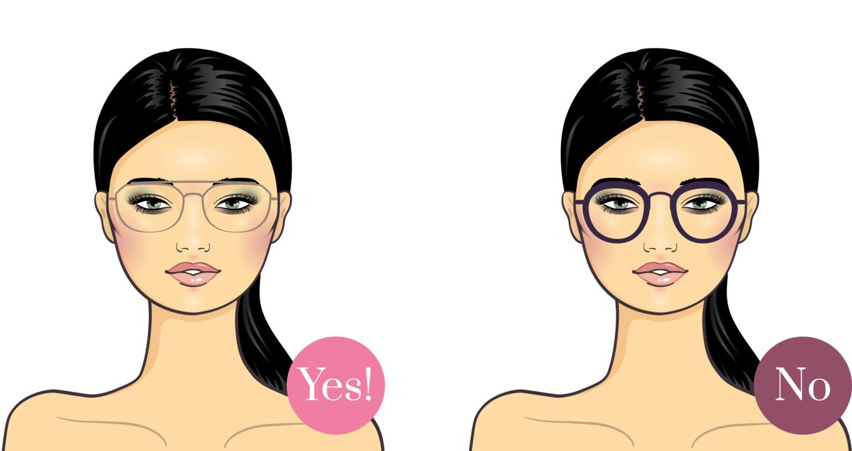 Brille für breites Gesicht