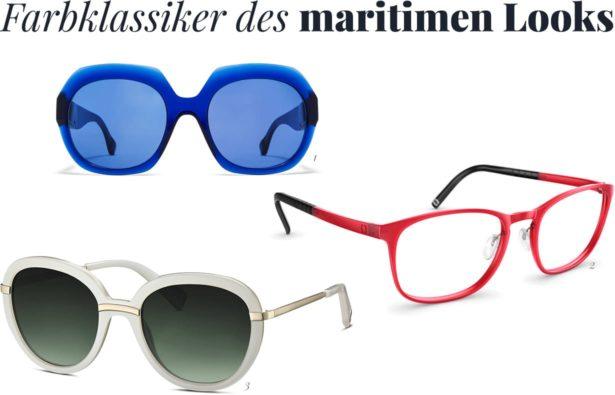 Brillen-Farbklassiker für den maritimen Look