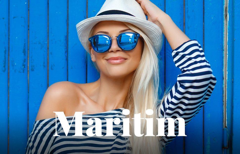 Die Brille für den Maritimen Look