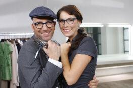 Welche Brille passt zu mir? Modedesigner und Styling-Experte Thomas Rath kennt die Antwort