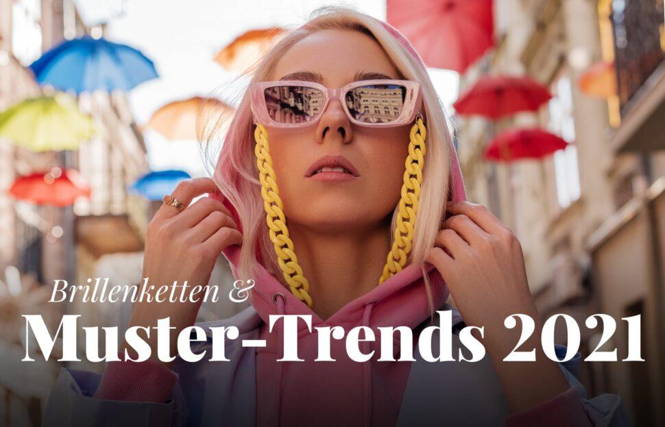 Muster Trends für Brillen 2021