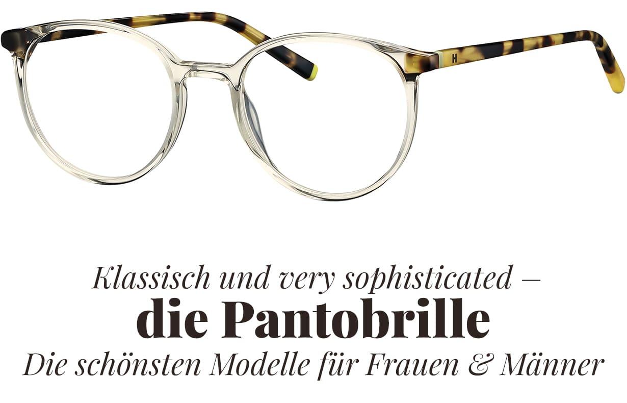 Pantobrillen – klassisch und very sophisticated | Brillenstyling