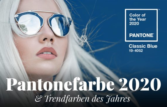 Pantonefarbe und Farbtrends 2020