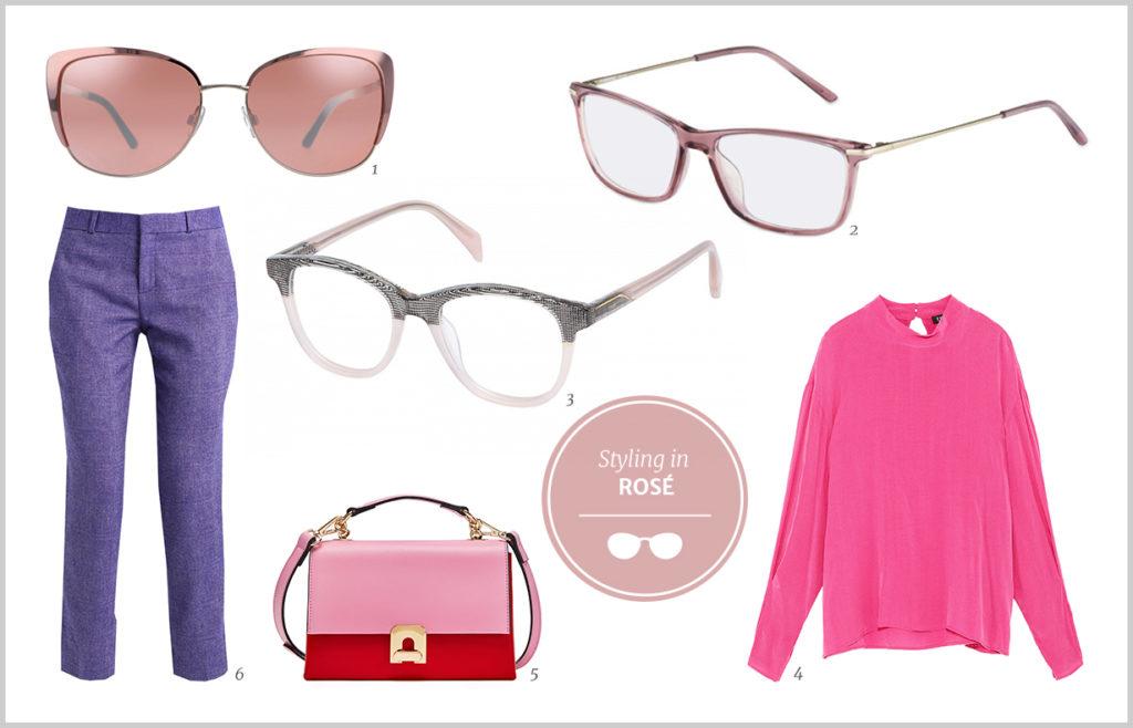 Brillen in Pastellfarben 2018