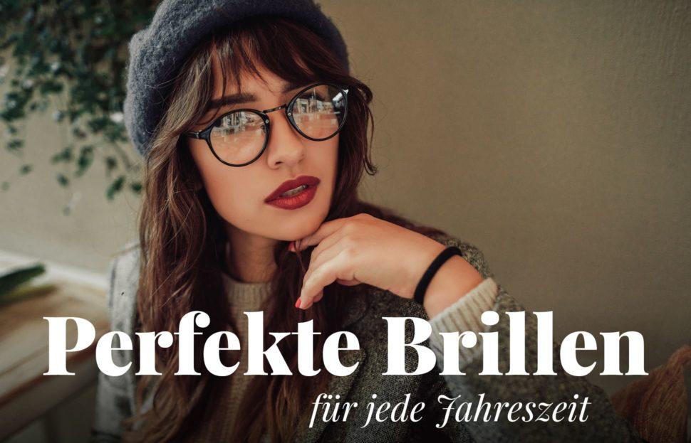Brillen für jede Jahreszeit, Frühling, Sommer, Herbst, Winter