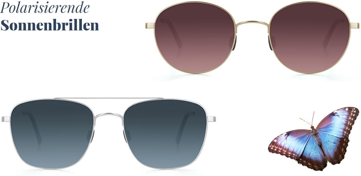 Selbsttönende Gläser & polarisierende Sonnenbrillen