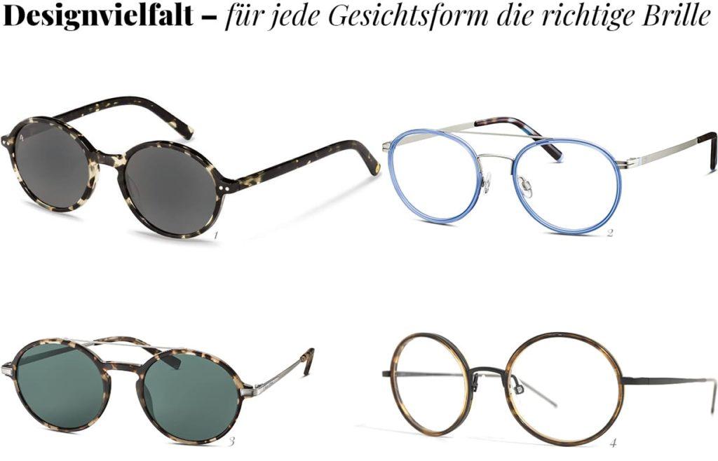 Runde Brillen im Trend