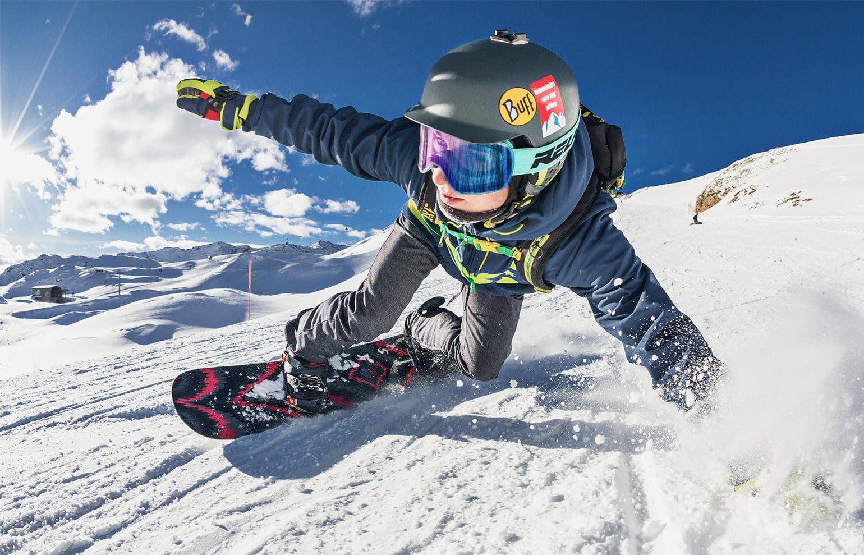 Skibrille, Snowboarder