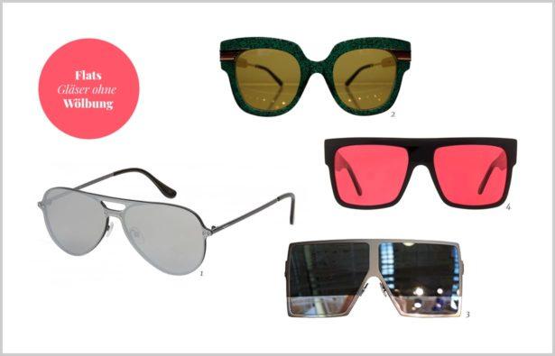 angesagte Sonnenbrillen 2018 Flats