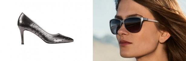 Sonnenbrillentrends 2014: Bild einer Frau mit modischer XL-Sonnenbrille