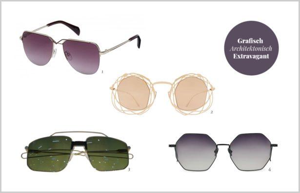 angesagte Sonnenbrillen grafisch