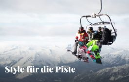 Wintersport-Styling mit Sportbrille