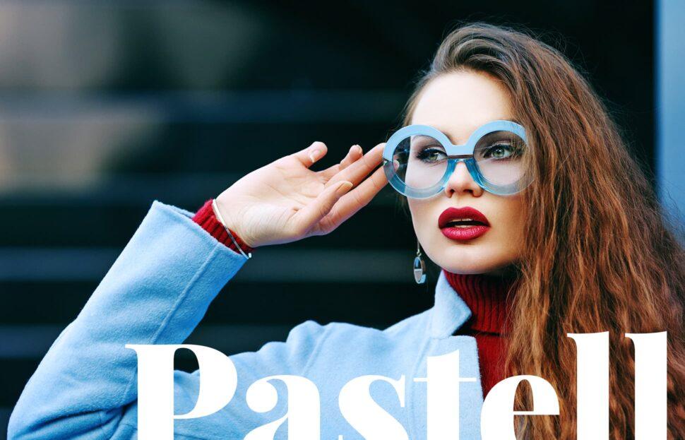 Brillen in Pastellfarben: frisch und leicht wie der Sommer
