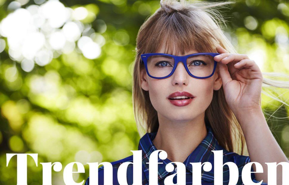 Brillen-Trendfarben 2018 – Brillen im Farbenrausch