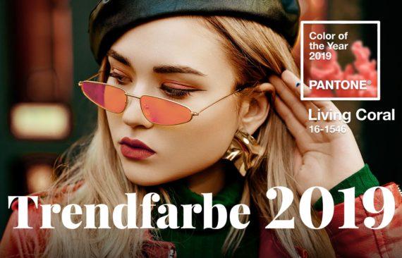 Trendfarbe 2019, Brillenfarben 2019