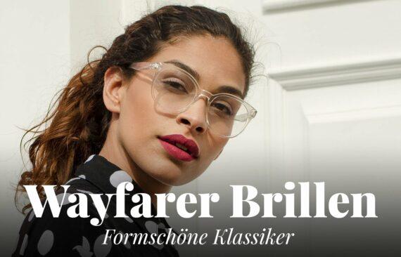 Wayfarer-Brille