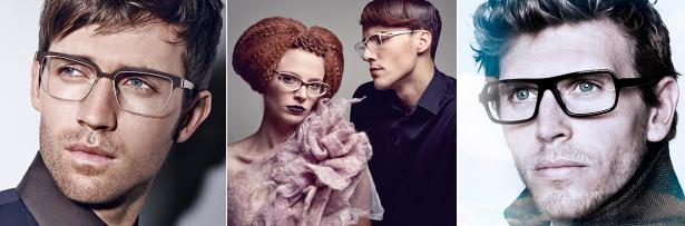 Welche Brille steht mir: eine mit weichen Formen oder eine markante? Bilder: Linderberg, frost, Tom Stevens