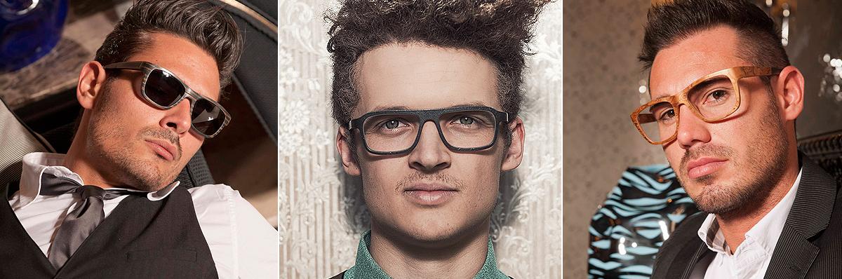 Glatze brille für männer mit Style