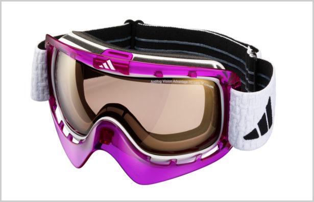Antibeschlagbeschichtung einer Wintersportbrille