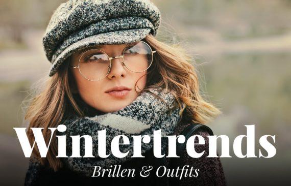 Wintertrends Brille und Outfit
